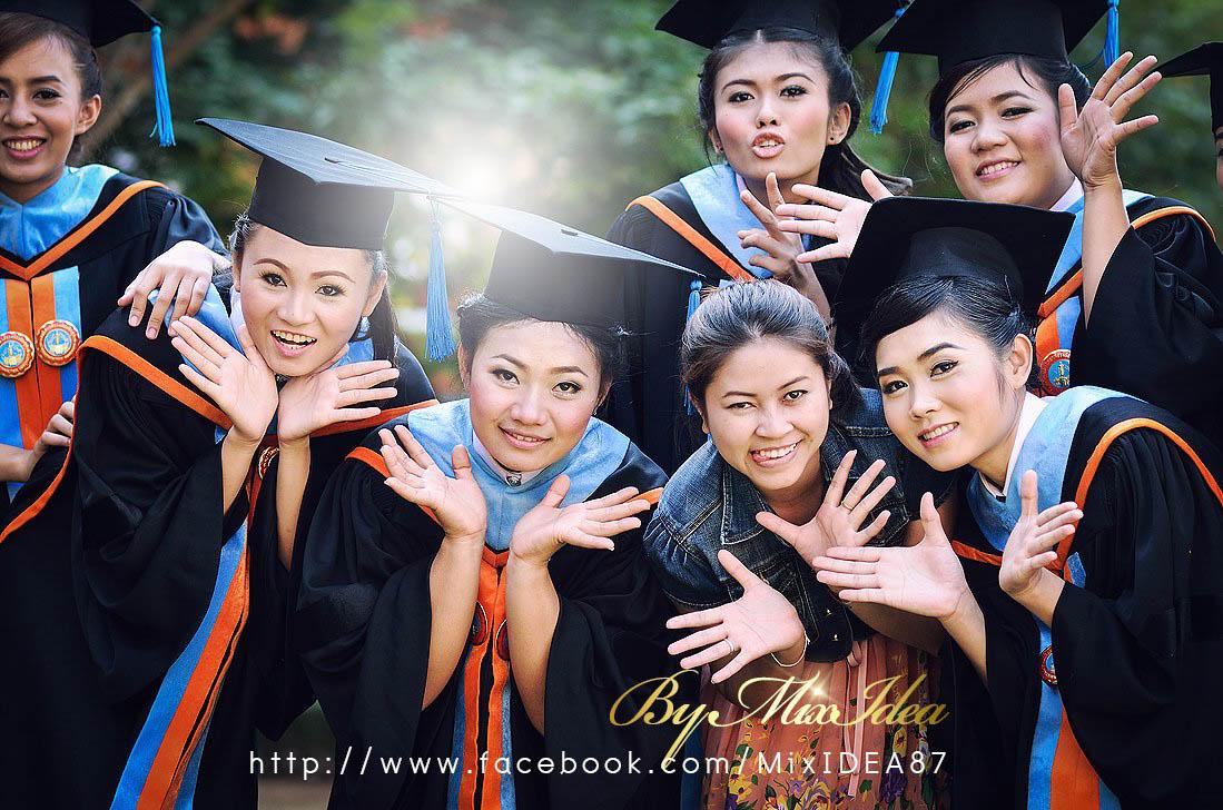 Photo of ภาพงานรับปริญญา [KIM POOH] มหาวิทยาลัยวงษ์ชวลิตกุล