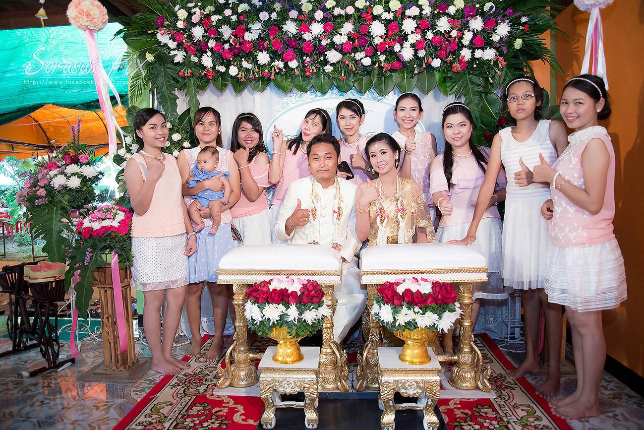 Photo of พิธีมงคลสมรส คุณพรรณทิวา คุณชาญวุฒิ อําเภอนาโพธิ์ จังหวัดบุรีรัมย์